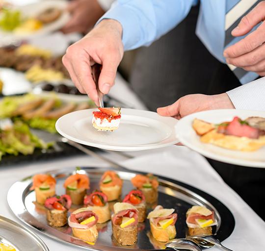 fotografare il cibo: esempio di come regolare focus e contrasto